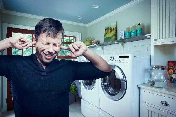 Шум при сливе в стиральной машине